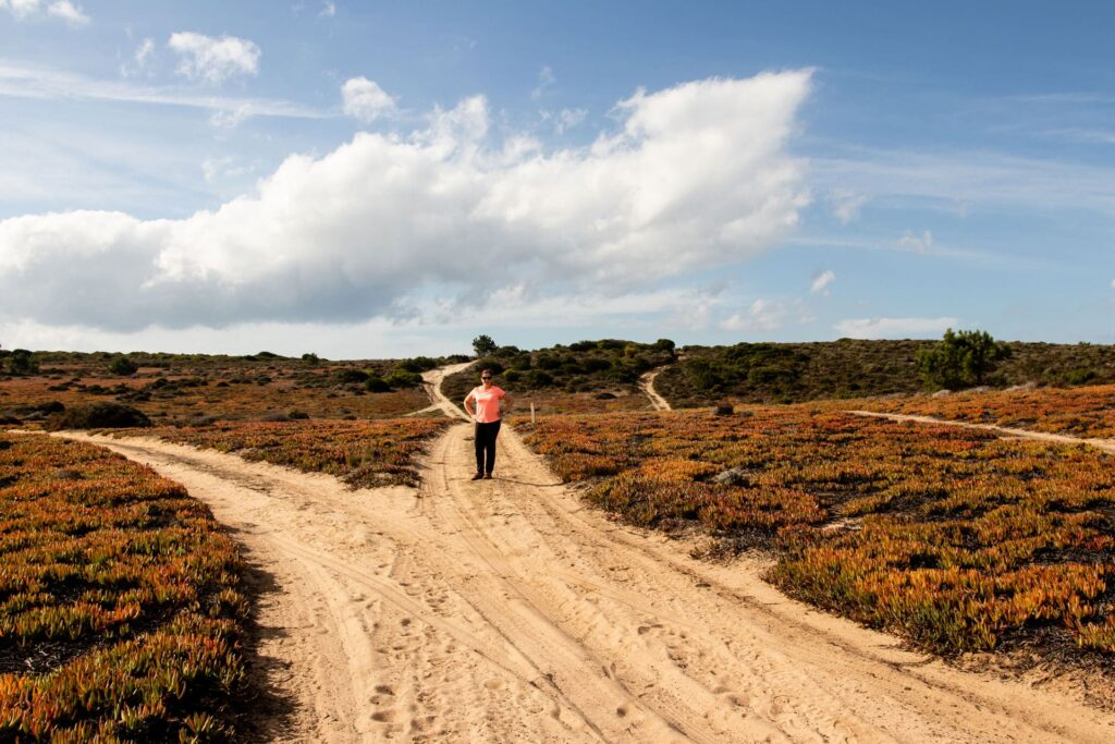 Hiking along the Rota Vicentina in Portugal