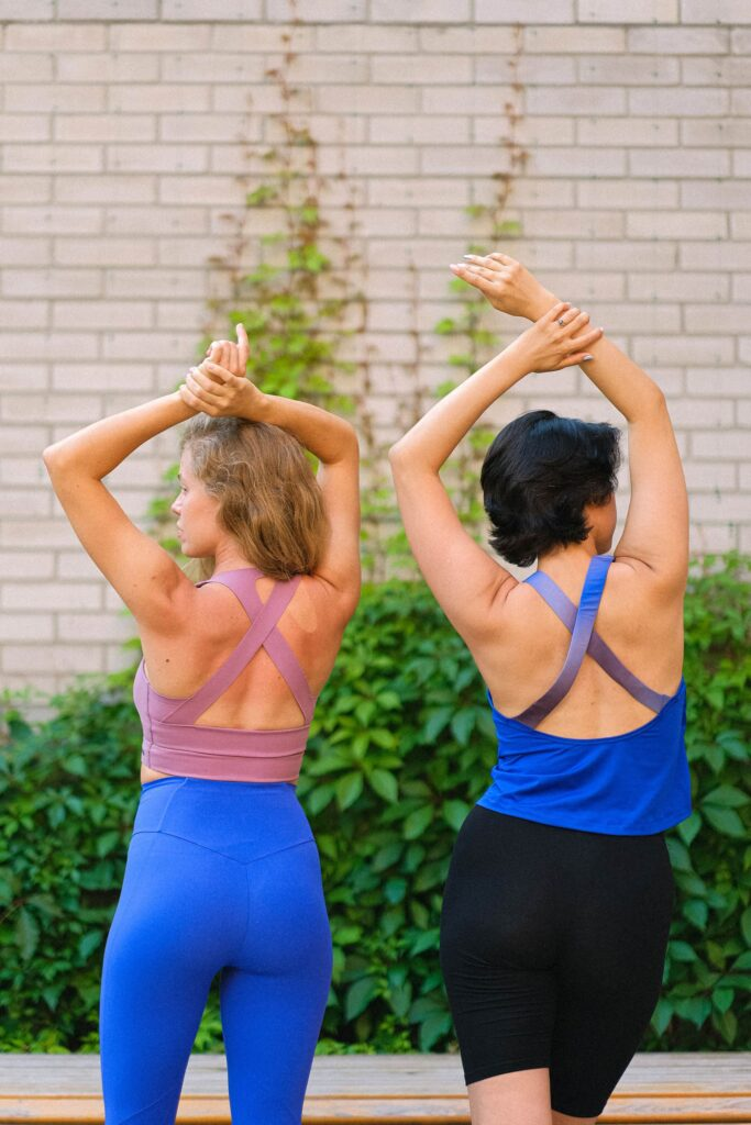 Leggings can be worn for all kinds of outdoor activities